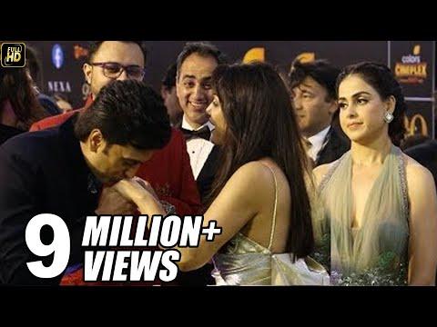 Genelia DSouza Get Jealous Of Husband Riteish Deshmukh KISSING Preity Zinta At IIFA AWARDS 2019