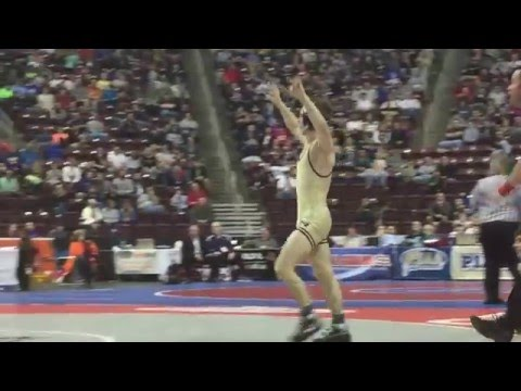 PIAA wrestling highlights: Franklin Regional's Spencer Lee tech falls Exeter Township's Austin DeSan