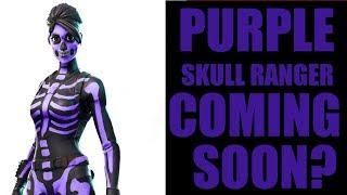 Purple Skull Ranger Coming SOON!!