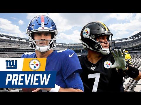 Giants vs. Steelers Week 1 Monday Night Football Preview | New York Giants