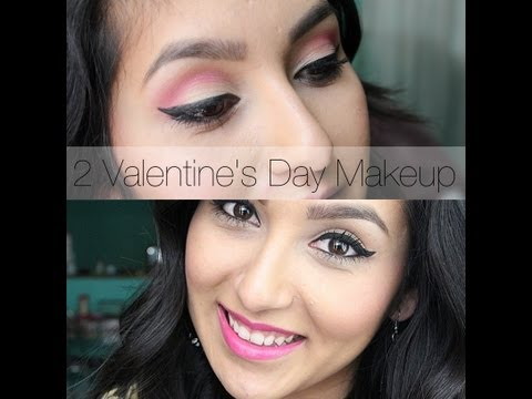 2 Fun & Flirty Valentine's Day Makeup Ideas