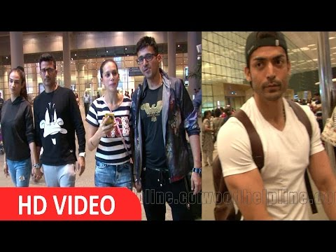 Meet Bros & Gurmeet Choudhary Spotted At Airpot