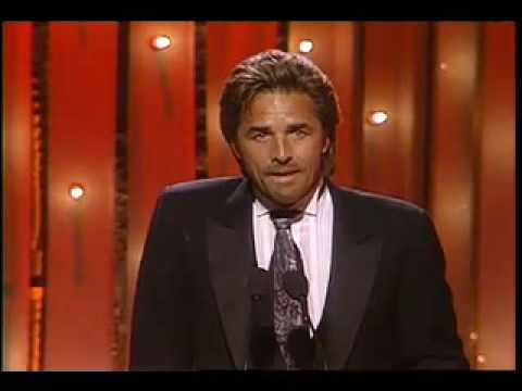 Don Johnson - Golden Globes 1986