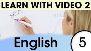 Top 20 English Verbs 3, Learn English with Video