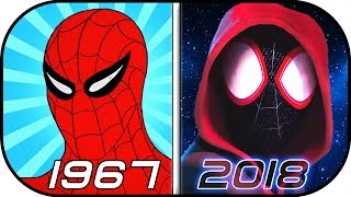 Video EVOLUTION of SPIDERMAN in Cartoons (1967-2018) History of Animated Spider-man Into the Spider-Verse MP3, 3GP, MP4, WEBM, AVI, FLV Agustus 2018