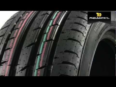Youtube Continental SportContact 3 305/25 ZR22 Z XL FR Letní