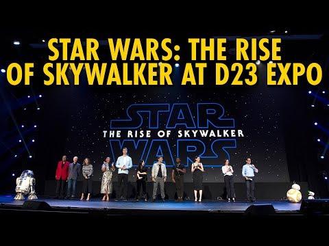 Star Wars: The Rise of Skywalker Walt Disney Studios Panel   D23 Expo 2019