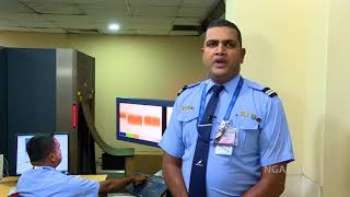Sri Lankan Security Officer