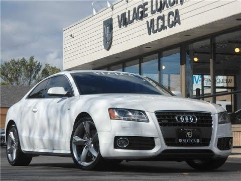 2011 Audi A5 in review – Village Luxury Cars Toronto