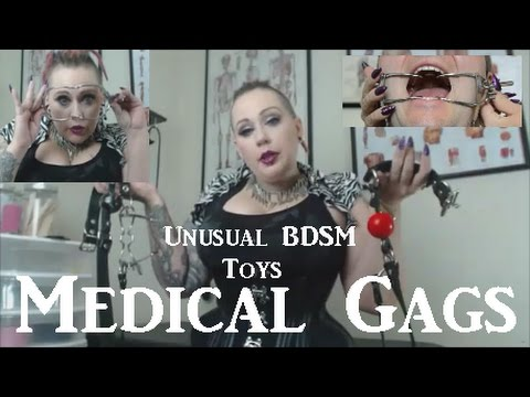 👄 Medical Gags (DIY Options Too!) - Unusual BDSM Toys Ep#3