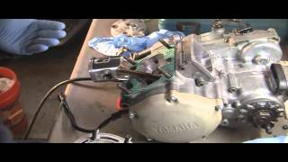 8. YZ125 Part 15: 2 Stroke  Installing Piston, Rings, Cylinder and Cylinder Head!