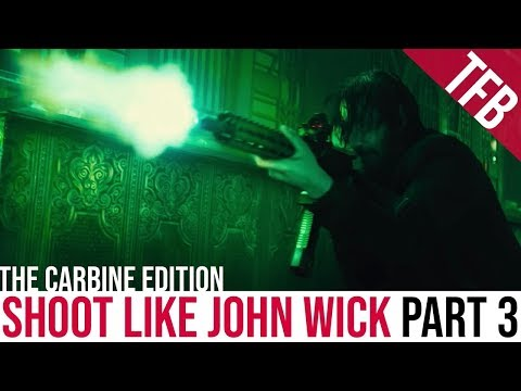 How to Shoot Like John Wick: Part 3 | Carbines and Submachineguns