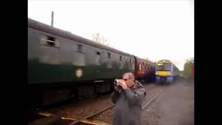 Lucky Guy Almost Killed By Train