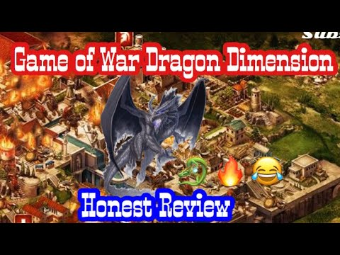 "Game Of War: ""the New Dragon Dimension"" Should You Play??"