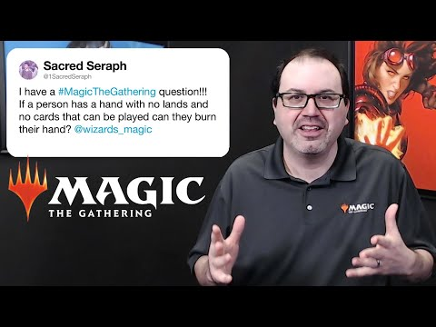 Wizards of the Coast Answer Magic: The Gathering Questions From Twitter | Tech Support | WIRED