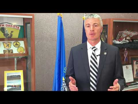 South Dakota Attorney General Marty Jackley on U.S. Supreme Court's decision to accept the state's case on online sales taxes 1/12/18. Video from the Attorney General's office