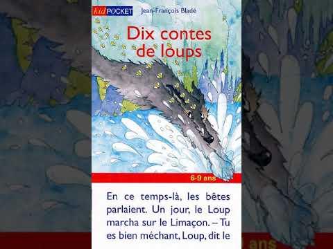 Dix contes de loups de Jean François Bladé