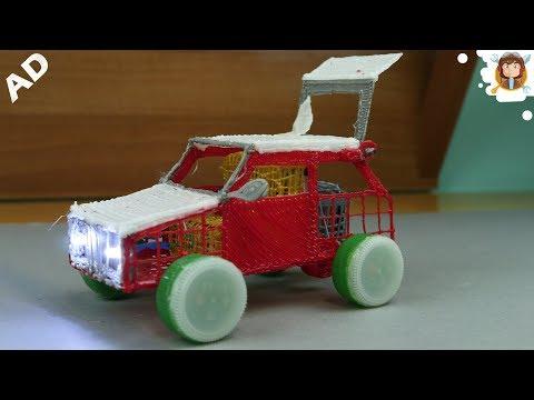 Carrinho elétrico 3D