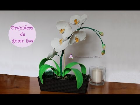 fimo tutorial - come realizzare un orchidea
