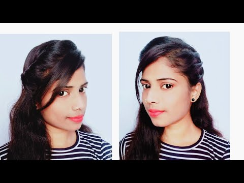 New hairstyle - New beautiful hairstyle for girls college girl hairstyle everyday simple hairstyle front style