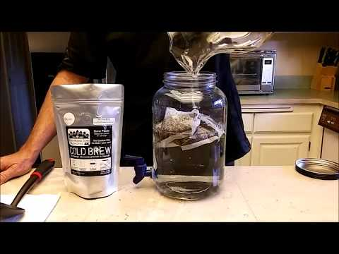 The Easiest and Fastest way to make Cold Brew Coffee