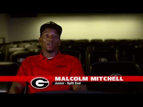 Malcolm Mitchell Interview 8/11/2014 video.