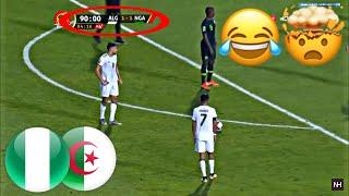 شاهد ردة فعل المعلق النيجيري بعد هدف محرز القاتل في الدقيقة تسعين😂 الجزائر و نيجيريا 2-1 صوت مفبرك