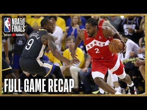 RAPTORS vs WARRIORS   Kawhi Leonard Drops 36 Points in Oracle   NBA Finals Game 4