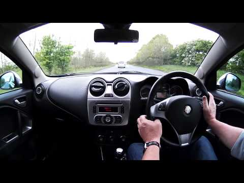 Virtual Test Drive In A Alfa Romeo Mito 1.4 TB MultiAir Distinctive 3dr + CRUISE CONTROL