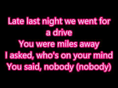 Sylvia Nobody Lyrics