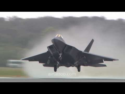 Raptor, F22, RIAT, air, tattoo, fairford, airshow, film izle.
