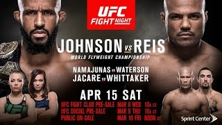 Nonton Ufc On Fox 24    Johnson Vs Reis   April 15  2017   Fight Preview  Picks   Predictions Film Subtitle Indonesia Streaming Movie Download