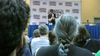 Awesome Con vlog from June 4-5, 2016 (couldn't go the first day ]:). Sorry I didn't film much, but I did record several questions from the Michael Rooker and...