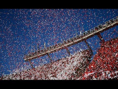 Recibimiento Superclásico River vs Boca en 360 - Estadio Monumental - 2016 - - Los Borrachos del Tablón - River Plate