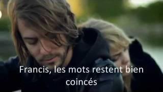 Francis - Coeur de Pirate (clip et paroles/video and lyrics) (Translation)