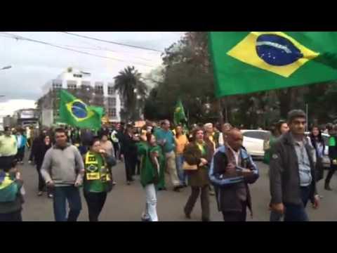 Manifestação em Uruguaiana  Agosto/2015