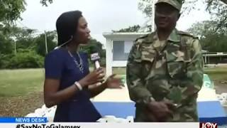 Gov't deploys first batch of joint military-police anti-galamsey task force.