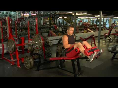Video demonstrating how to perform the Decline Bench Press