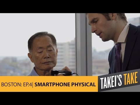 gets - George Takei visits AARP's Innovation@50+ Health Expo, receives a cutting-edge check-up from a smartphone, and gets a lesson on gene therapy at bluebird bio. SUBSCRIBE: http://bit.ly/TakeiSubscrib...