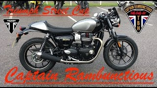 4. Triumph Street Cup - 1st Ride & Review