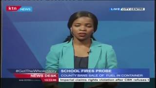 SCHOOL FIRES PROBE: County Bans Sale Of Fuel In Containers