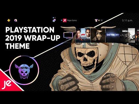PlayStation 2019 Wrap-up Theme (Dynamic Theme)