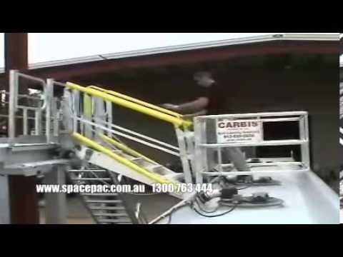 Folding Stair Type Truck and Rail Car Gangway