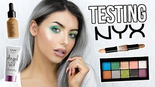 Video TESTING NEW NYX MAKEUP / ONE BRAND TUTORIAL #TESTINGWEEK MP3, 3GP, MP4, WEBM, AVI, FLV Januari 2018