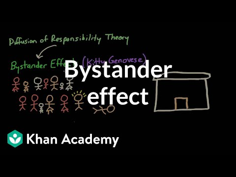 bystander effect video social psychology khan academy
