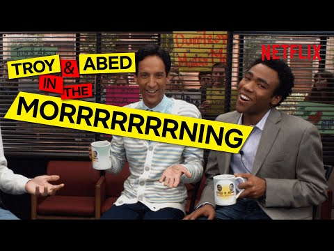 Every Episode of Troy and Abed In The Morning | Community S1-6