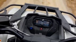 5. Can-am Outlander 450L acceleration 0-90km/h  (top speed 103km/h)