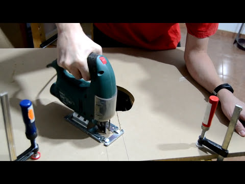 Mesa casera para fresadora homemade router table tube for Mesa para fresadora