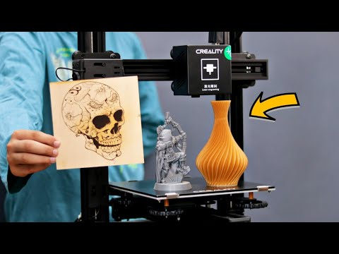 WOW! Amazing 3D Printer | Creality CP-01