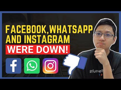 Facebook, Whatsapp and Instagram Were Down!